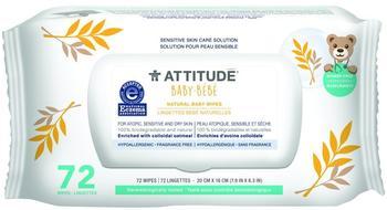 Attitude Natural Baby Feuchttücher Sensitive Haut (72 Stk.)