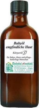 Bahnhof-Apotheke Baby-Öl für empfindliche Haut