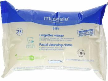 Mustela Face Wipes (25 pc.)