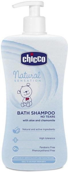 Chicco Natural Sensation Bath Shampoo No Tears (500 ml)