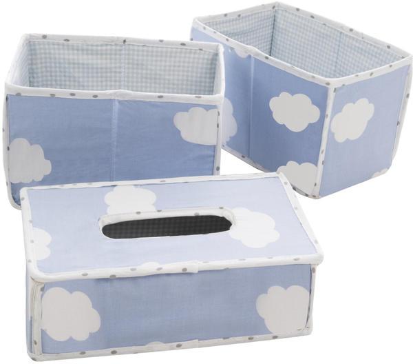 Roba Pflegeorganizer Set Kleine Wolke blau (3-tlg.)