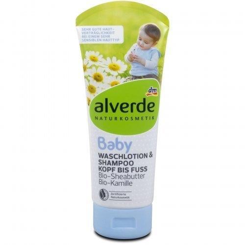 Alverde Baby Waschlotion & Shampoo Kopf bis Fuss (200 ml)