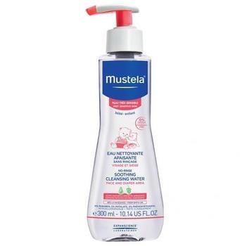 Mustela Very sensitive skin - No rinse soothing cleansing water (300 ml)