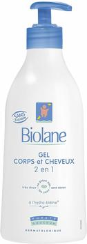 Biolane 2-in-1 body and hair cleanser (350ml)