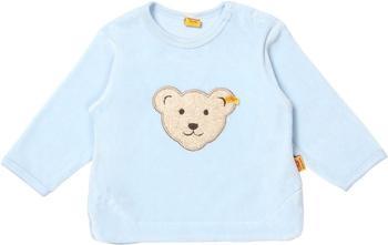 Steiff Nicki-Sweatshirt mit Bärchen hellblau