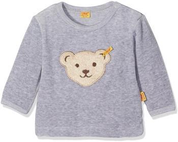 steiff-nicki-sweatshirt-mit-baerchen-grau