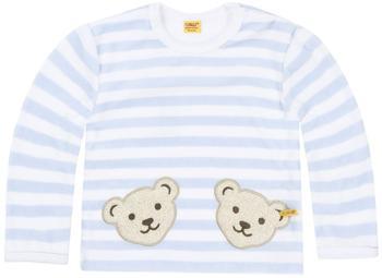 steiff-nicki-sweatshirt-mit-2-baerenkoepfen-hellblau