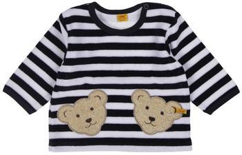 Steiff Nicki-Sweatshirt mit 2 Bärenköpfen marine