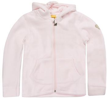 Steiff Fleecekapuzenjacke rosa