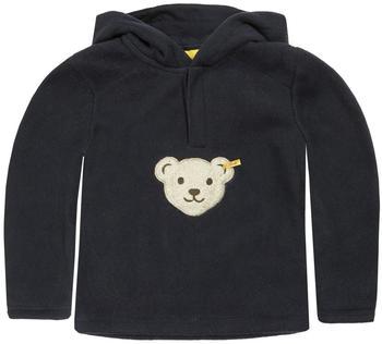Steiff Kapuzensweatshirt Quietsch-Bär marine