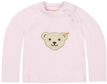 Steiff Fleece-Pullover mit quietsch Bär rosa