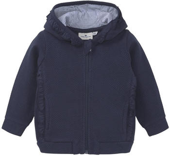 Tom Tailor Strukturierte Sweatjacke (60001576) blue