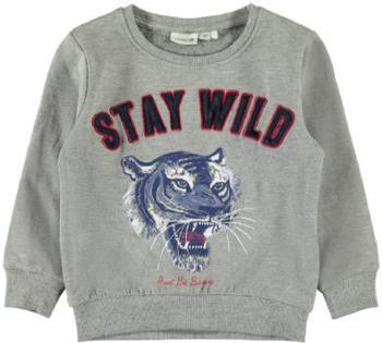 Name It Boys Sweatshirt NMMLINOL grey melange (13167366-2)