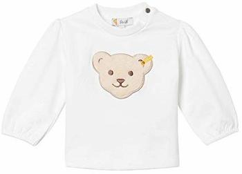 Steiff Girls Sweatshirt bright white (L001922234-1000)