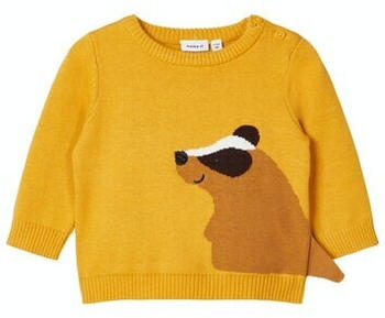 Name It Nbmnadimme Ls Knit (13180859) spicy mustard