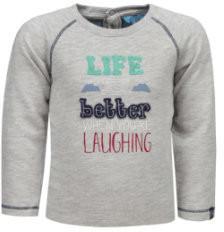 Lief! Boys Sweatshirt grey melange (1720423-8125)