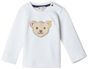 Steiff Boys Sweatshirt bright white (L001922114-1000)