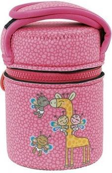 Laken Insulated Food Flask with cover by Katuki Saguyaki pink (YP10J)