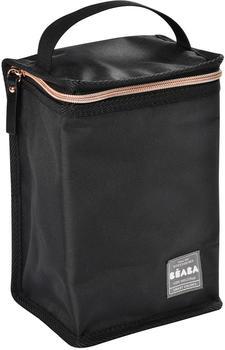 Beaba Isothermal bottle bag black/pink gold