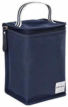 Beaba Isothermal bottle bag navy blue/striped