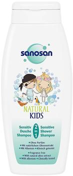 Sanosan Natural Kids 2in1 Sensitiv Dusche & Shampoo für Kinder