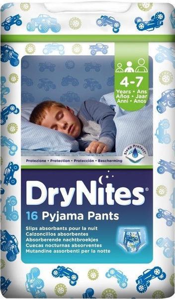 Huggies DryNites Jungen 4-7 Jahre 64 St.