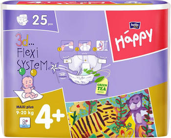 Bella Baby Happy Maxi PlusWindeln 9-20 kg (Größe 4+)