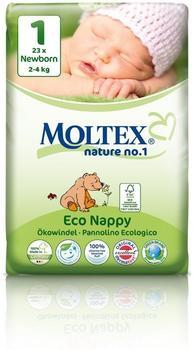 Moltex Nature No. 1 Newborn Bär (Größe 1) 6er x 23 St.