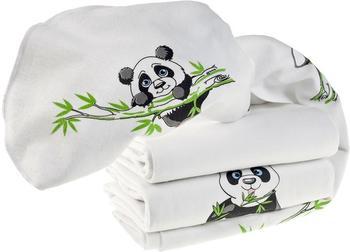 Makian Panda (80 x 80 cm) 3er Pack Weiß