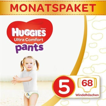 Huggies Ultra Comfort 5 (12-17 kg) 68 pcs