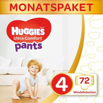 Huggies Ultra Comfort Pants Größe 4 (9-14 kg) 72 St.