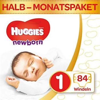 Huggies Newborn 1 (0-3 kg) 84 St.