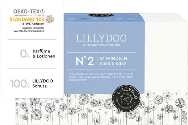 Lillydoo Windeln Gr. 2 (3-4 kg) 37 St.