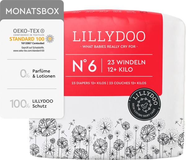Lillydoo Windeln Gr. 6 (12+kg) 23 St.