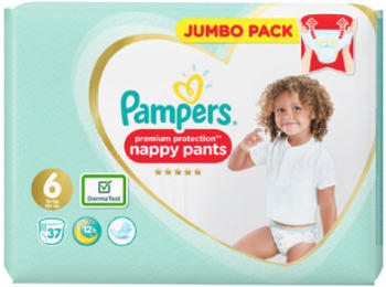 Pampers Premium Protection Pants Gr.6 15+kg 37 St.