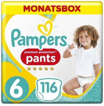 Pampers Premium Protection Pants Gr. 6 15+kg 116 St.