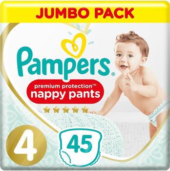 Pampers Premium Protection Pants Gr. 4 (9-15 kg) 45 St.