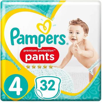 Pampers Premium Protection Pants Gr.4 Maxi (9-15kg) 32St.