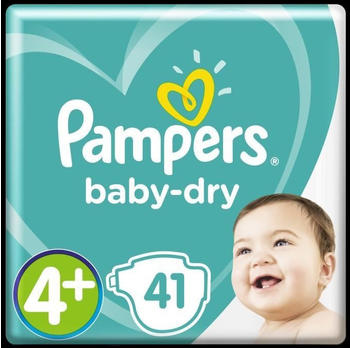 Pampers Baby Dry Gr.4+ Maxi Plus 9-20 kg 41St.