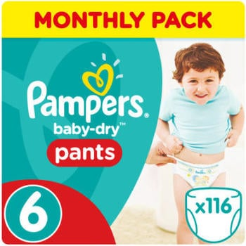 Pampers Baby Dry Pants Gr. 6 Extra Large (15+ kg) 116 St.