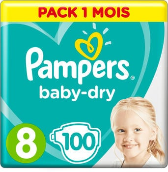 Pampers Baby Dry Gr. 8 Extra Large (17+kg) 100 St.
