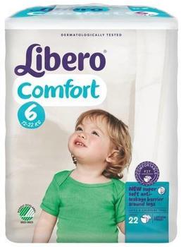 Libero Comfort Size 6 (13-22 kg) 22 pcs.