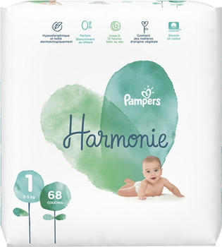 Pampers Harmonie size 1 (2-5 kg) 68 pcs