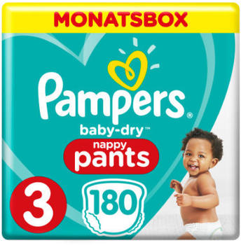 Pampers Baby Dry Pants Gr. 3 (6-11 kg) 180 St.
