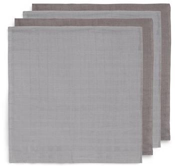 Jollein Mullwindeln (70 x 70 cm) 4er Pack storm grey