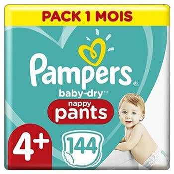 Pampers Baby Dry Gr. 4+ (10-15 kg) 114 St.
