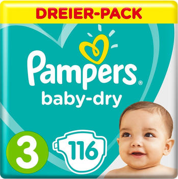Pampers Baby Dry Gr. 3 (6-10 kg) 116 St.