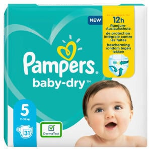 Pampers Baby Dry Gr. 5 (11-16kg) 31 St.