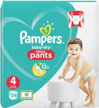 Pampers Baby Dry Pants Gr. 4 (9-15 kg) 29 Stück