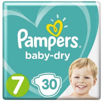Pampers Baby Dry Size 7 (15+ kg) 30 pcs